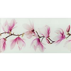 Dekor ścienny szklany Tango flower 22,3x44,8 Gat.1