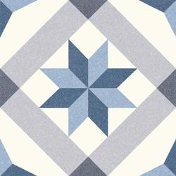 GRES SZKLIWIONY RIVIERA MENTON BLUE 250X250 G1 (1M2)