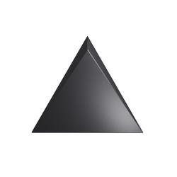 TRIANG. 15X17 CASCADE BLACK MATT 218246