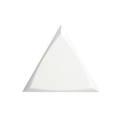TRIANG. 15X17 CHANNEL WHITE GLOSSY 218248