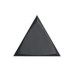 TRIANG. 15X17 CHANNEL BLACK MATT 218250