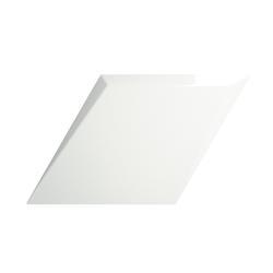 ROMBO 15X25,9 DROP WHITE GLOSSY 218261