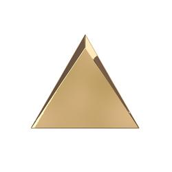 TRIANG. 15X17 CASCADE GOLD GLOSSY 218365