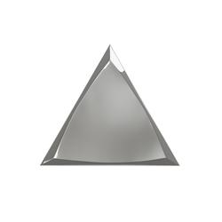 TRIANG. 15X17 CHANNEL SILVER GLOSSY 218369