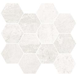 METALLIC WHITE NAT MOS HEX    28,00X30,00 gat.1(0,588)