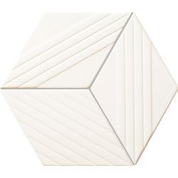Mozaika ścienna Colour white 19,8x22,6 Gat.1