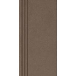 INTERO BROWN STOPNICA PRASOWANA MAT. 29,8X59,8 G1 (1.070)