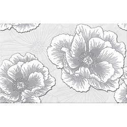 DEKOR  FERRATA GREY  FLOWER 25X40 GAT.1 WD953-005