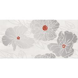 DEKOR GRISSA GREY  FLOWER 29,7X60 OD692-002