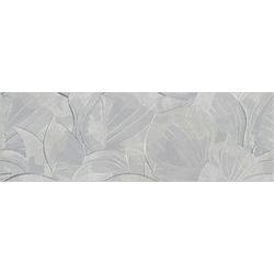 DEKOR FLOWER CEMENTO LIGHT GREY INSERTO 24x74