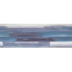 DEKOR ARTISTIC BLUE GEO INSERTO LINES 25X75 446-001