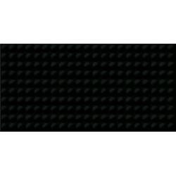 ŚCIANA ORIGAMI DUNE PULSE BLACK GLOSSY STRUCTURE 29,7X60 G1 OP658-17-1