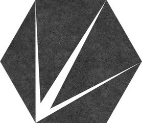 GRES SZKLIWIONY TRIDENT NERO 220X250 G1 (1,04M2)