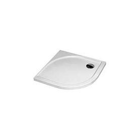BRODZIK półokrągły 90x90x5 biały - XBN0490000