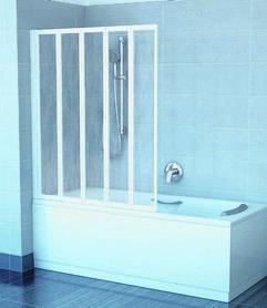 Parawan nawannowy VS5 biały Rain  794E010041
