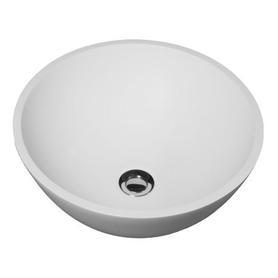 RODOS umywalka nablatowa Marble+, o41,2cm, biały połysk      RODOSBP