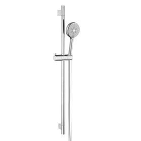 RIBBON zestaw prysznicowy suwany, chrom       RIBBON-SCR