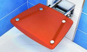 Siedzisko prysznicowe OVO-B Orange  B8F0000017