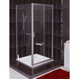 Ścianka prysznicowa BLPS-100 biała Transparent  9BHA0100Z1