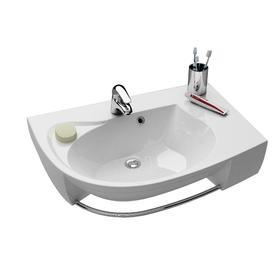 Umywalka Rosa Comfort Plus L biała z otworami   XJ0L1100000
