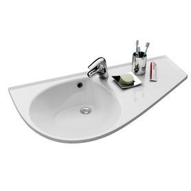 Umywalka Avocado Comfort L biała z otworami   XJ9L1100000