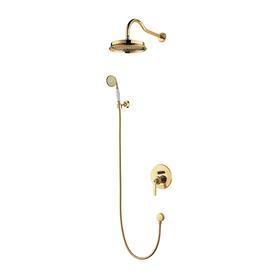 ARMANCE system prysznicowy podtynkowy, złoto  SYSAM10GL