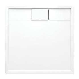 BROOKLYN brodzik prysznicowy akrylowy, kwadratowy, 90x90cm, biały połysk     BROOKLYN90/KBP