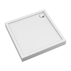 CAMDEN brodzik prysznicowy akrylowy, kwadratowy, 80x80cm, biały połysk     CAMDEN80/KBP