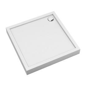 CAMDEN brodzik prysznicowy akrylowy, kwadratowy, 90x90cm, biały połysk     CAMDEN90/KBP