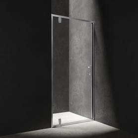 S drzwi prysznicowe uchylne, 80cm, chrom/transparentny      S-80DCRTR