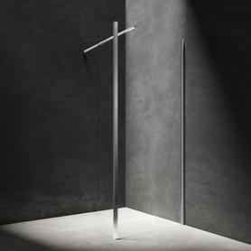 MARINA kabina walk-in, ścianka boczna, 110x30cm, chrom/transparentny     MA1130CRTR