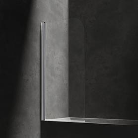 MAYFAIR parawan nawannowy, jednoskrzydłowy, 70cm, chrom/transparentny      QP93B-LLUXCRTR