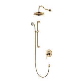 ARMANCE system prysznicowy podtynkowy, złoto  SYSAM20GL