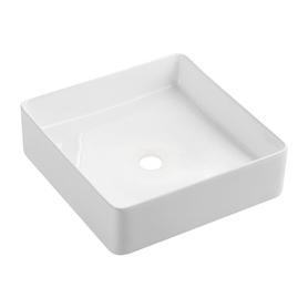 PASADENA umywalka nablatowa, 36x36cm, biały połysk       PASADENA360BP