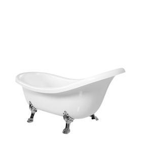 ATENA wanna Marble+, 168x76,2x55,5cm, biały połysk       ATENA168BP