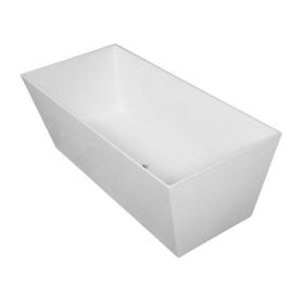 LONDON wanna Marble+, 175,5x79,5x61cm, biały połysk       LONDON175BP