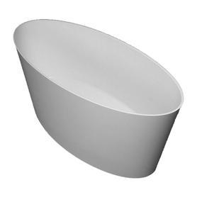 ROMA wanna Marble+, 159,3x72x65cm, biały połysk       ROMA159BP