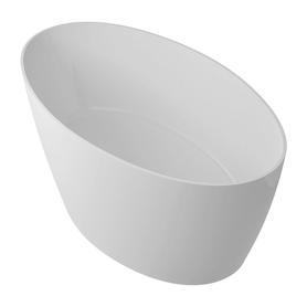 SIENA wanna Marble+, 160,5x80,5x60cm, biały połysk       SIENAWWBP