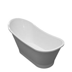 VENEZIA wanna Marble+, 159,5x73,2x80,5cm, biały mat      VENEZIA159BM