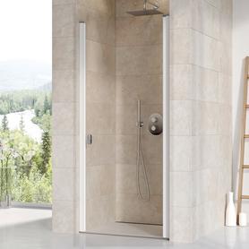 Drzwi prysznicowe CSD1-90 białe Transparent  0QV70100Z1
