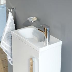 Umywalka Chrome 400 R biała z otworami  XJGP1100000