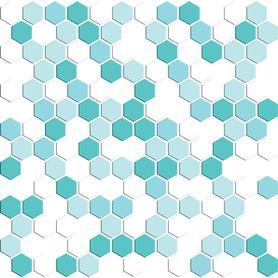 MOZAIKA GLASS 310X308 6 MM NR 6