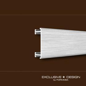 Listwa Morino płaska 25x8,5mm ALU srebrny A0 dł.2,