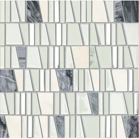 Mozaika ścienna Drops stone white 30*30 Gat.1
