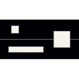 DEKOR  MITA BLACK 29,8X59,8 GAT.1
