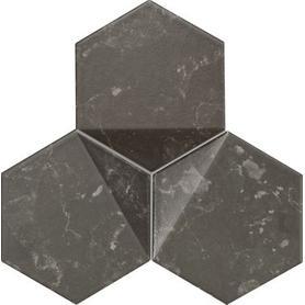 Mozaika ścienna Scoria black 19,2x16,5 Gat.1