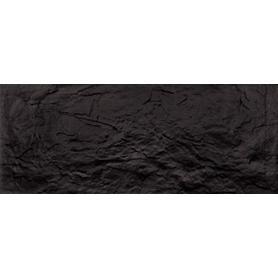 Płytka ścienna Soga Black STR 29,8x74,8 Gat.1