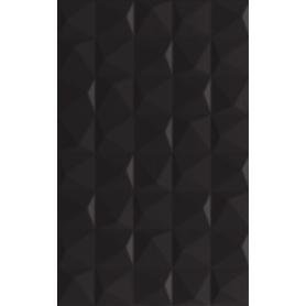 ŚCIANA MELBY NERO STRUKTURA 25X40 G1 (1.30)