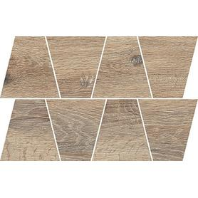 NATURAL COLD BROWN MOSAIC TRAPEZE 19X30,6 OD498-081