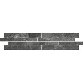 MOZAIKA NOIR grey mosaic 12x60  MD987-005